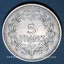 Coins 4e république (1947-1959). 5 francs Lavrillier aluminium 1948B