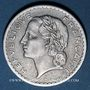 Coins 4e république (1947-1959). 5 francs Lavrillier aluminium 1950B