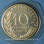 Coins 5e république (1959- /). 10 centimes Marianne 1986