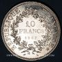 Coins 5e république (1959- ). 10 francs 1967. Point sur le 1er E de REPUBLIQUE
