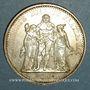 Coins 5e république (1959- ). 10 francs 1968. Très petit point sur le 1er E de REPUBLIQUE