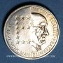 Coins 5e république (1959- ). 10 francs 1986 Schuman, argent, B.U.