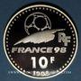Coins 5e république (1959- ). 10 francs 1998. Coupe du Monde de Football, 1998 - la Coupe