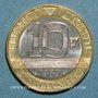 Coins 5e république (1959- ). 10 francs Montesquieu 1989
