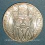 Coins 5e république (1959- ), 100 francs 1990, Charlemagne