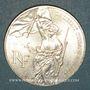 Coins 5e république (1959- ). 100 francs 1993. Bicentenaire du Louvre