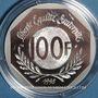 Coins 5e république (1959-). 100 francs 1998. René Cassin