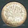 Coins 5e république (1959- ). 100 francs Panthéon, 1987