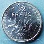 Coins 5e république (1959- ). 50 centimes Semeuse 1970