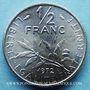 Coins 5e république (1959- ). 50 centimes Semeuse 1972