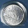 Coins 5e république (1959- /). 50 centimes Semeuse 1986