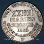 Coins Allemagne. Westphalie. Jérôme Napoléon (1807-13). 24 mariengroschen (= 2/3 taler) 1810B. Brunswick