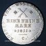 Coins Allemagne. Westphalie. Jérôme Napoléon (1807-1813). Taler 1811C. Cassel