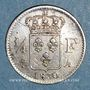 Coins Charles X (1824-1830). 1/4 franc 1830A