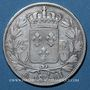 Coins Charles X (1824-1830). 5 francs 1825 H. La Rochelle