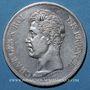 Coins Charles X (1824-1830). 5 francs 1825H. La Rochelle
