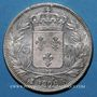 Coins Charles X (1824-1830). 5 francs 1826 K. Bordeaux
