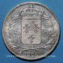 Coins Charles X (1824-1830). 5 francs 1826K. Bordeaux