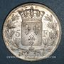Coins Charles X (1824-1830). 5 francs 1827W. Lille