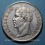 Coins Charles X (1824-1830). 5 francs, 2e type 1827MA. Marseille