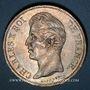 Coins Charles X (1824-1830). 5 francs, 2e type, 1828D. Lyon