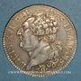 Coins Constitution (1791-1792). 1/2 écu de 3 livres type FRANCOIS 1792A. 2e semestre