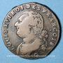 Coins Constitution (1791-1792). 12 deniers 1792 Q. Perpignan, 1er semestre, type FRANCOIS, MdC