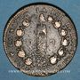 Coins Constitution (1791-1792). 12 deniers 1792BB. Strasbourg. Type FRANCAIS