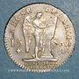 Coins Constitution (1791-1792). 15 sols 1791I. Limoges. 1er sem. Var. C de FRANCOIS sans cédille