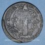 Coins Constitution (1791-1792). 2 sols 1792BB. Strasbourg. Type FRANCAIS. Cuivre