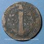 Coins Constitution (1791-1792). 2 sols 1792W. Lille, 1er semestre, type FRANCOIS