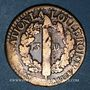 Coins Constitution (1791-1792). 3 deniers 1792I Limoges. Type FRANCOIS