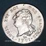 Coins Constitution (1791-1792). 30 sols 1791A. 1er semestre, type FRANCOIS