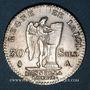 Coins Constitution (1791-1792). 30 sols 1792A. 2e semestre. Type FRANCOIS