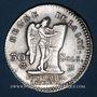 Coins Constitution (1791-1792). 30 sols 1792BB. Strasbourg. 1er semestre. Type FRANCAIS