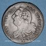 Coins Constitution (1791-1792). 6 deniers 1792BB. Strasbourg. Type FRANCAIS