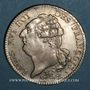 Coins Constitution (1791-1792). Ecu de 6 livres, type FRANCOIS 1792 A, 2e semestre