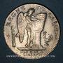 Coins Constitution (1791-1792). Ecu de 6 livres, type FRANCOIS 1792 I. Limoges. 1er semestre