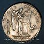Coins Constitution (1791-1792). Ecu de 6 livres, type FRANCOIS 1792A, 1er semestre