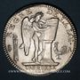 Coins Constitution (1791-1792). Ecu de 6 livres, type FRANCOIS 1792A, 2e semestre
