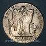 Coins Constitution (1791-1792). Ecu de 6 livres, type FRANCOIS 1792I. Limoges. 1er semestre