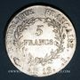 Coins Consulat (1799-1804). 5 francs 1er Consul, an 12I. Limoges