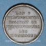 Coins Consulat (1799-1804). Essai de Gengembre à l'effigie de Lavoisier, gravé par Andrieux, an 9