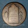Coins Convention (1792-1795). 1/2 sol aux balances (1793H). La Rochelle. Cuivre