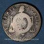 Coins Convention (1792-1795). 2 sols aux balances 1793 (W pointé). Arras