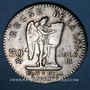 Coins Convention (1792-1795). 30 sols constitutionnel 1793BB, type FRANCAIS