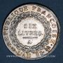 Coins Convention (1792-1795). Ecu de 6 livres 1793A. 1er semestre