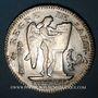 Coins Convention (1792-1795). Ecu de 6 livres constitutionnel 1793A,  type FRANCOIS