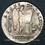 Coins Convention (1792-1795). Ecu de 6 livres constitutionnel 1793R. Orléans. Type FRANCOIS