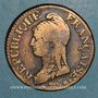 Coins Directoire & Consulat. 5 centimes an 8AA Metz